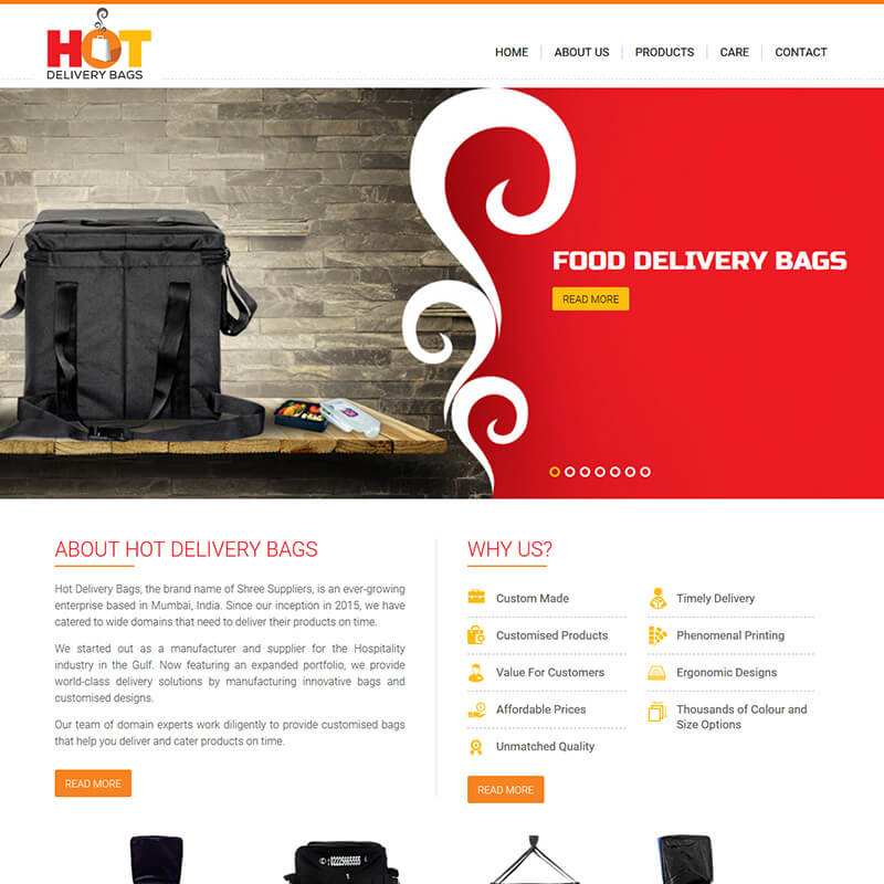 Hot Delivery Bags